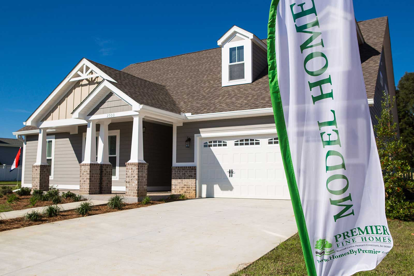 Ox Bottom Crest Model Home